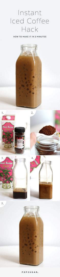 Ditch your expensive iced-coffee habit for this homemade instant iced coffee hack.