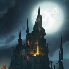 Fantasy Gothic Castle 1