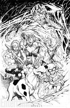 Os personagens do universo de Hanna-Barbera estão de volta pela DC Entertainment, pelas mãos de Dan DiDio e muitos roteiristas e ilustradores respeitados como Jim Lee - Scooby Doo
