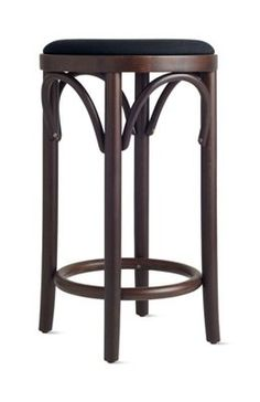 island : Era Backless Counter Stool with Upholstered Seat