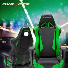 DXRacer race chair green color.#games,#pcgaming,#love,#free games,#racing games,#marketing