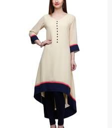 Stylish long kurti available at Mirraw.com