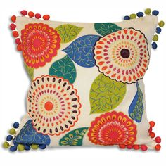 Kerala square cushion