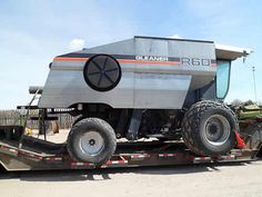 Gleaner R60 combine salvaged for used parts. This unit is available at All States Ag Parts in Bridgeport, NE. Call 877-530-5010 parts. Unit ID#: EQ-23895. The photo depicts the equipment in the condition it arrived at our salvage yard. Parts shown may or may not still be available. http://www.TractorPartsASAP.com