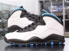 "Air Jordan Retro 10 ""Powder Blue"""