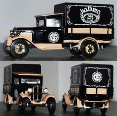 The Matchbox Jack Daniel's miniatures