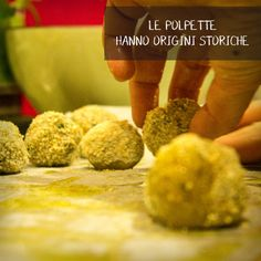 polpette | cucina italiana | cucinare insieme | socialeating | socialfood | socialcooking Cooking Together, Rome, Grains, School, Seeds, Korn, Rome Italy