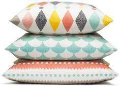 Littlephant Pillows with Wonderful Patterns and Colors | Kidsroom | Jollyroom - http://www.jollyroom.se/search?text=Littlephant%20Kudde | #jollyroom