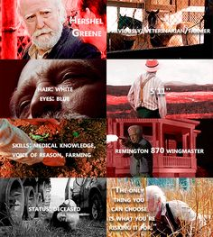 Knowing About Hershel Greene #TWD