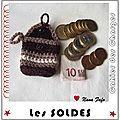 Serial Crocheteuse 152 : Pour réduire ses dépenses ... le mini porte monnaie !