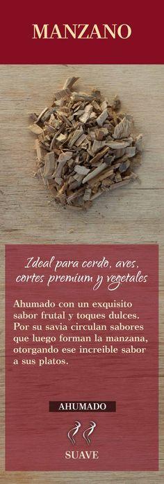 Astillas para ahumar asados Chorizo, Fondue, Smoke, Cooking, Ideas, Templates, Smoking Meat, Cold Cuts, Meals
