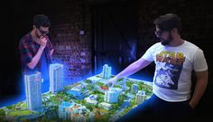 'Holographic table' tipped for boardroom applications