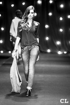 Pasarela Tennis Círculo de la Moda Bogotá 2013 Modelo: Daniela Pinedo-INforma Models