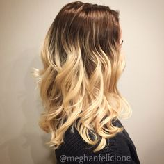 Reverse balayage done with color at her root, while her ends were previously lightened. Reverse Balayage, Short Blonde Bobs, About Hair, Hair Makeup, Hair Beauty, Long Hair Styles, Color, Long Hairstyle, Colour