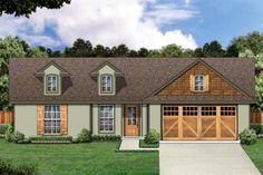 Elevation of Craftsman   House Plan 87973