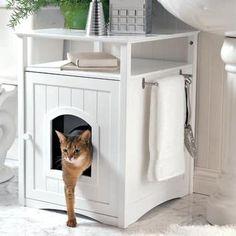 Kitty Washroom Cabinet