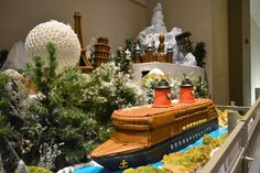 MouseSteps - Epcot Gingerbread Village Includes Disney Cruise Line; Aulani; Eiffel Tower and Spaceship Earth