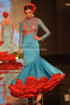 Flamencas del pasado a la feria de 2016. Claves · Claudia Alfaro · Entre Cirios y Volantes