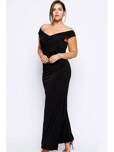 Plus Size Drop Shoulder Black Dress women evening sexy gown winter Plus Size Black Dresses, Plus Size Outfits, Plus Size Evening Gown, Evening Gowns, Buy Dress, Dress Up, Sexy Gown, Elegant Dresses For Women, Dress Clothes For Women