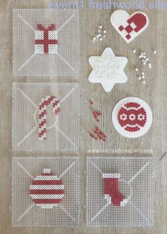 Christmas gift wrapping inspiration Christmas gift wrap inspiration … – The Tell Me Why Perler Bead Designs, Hama Beads Design, Diy Perler Beads, Pearler Bead Patterns, Perler Bead Art, Christmas Hearts, Kids Christmas, Christmas Gifts, Christmas Present Wrap