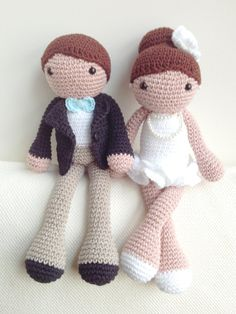 Bride and Groom Plushes, Bride and Groom Decoartions, Wedding Cake Toppers, Wedding Decorations