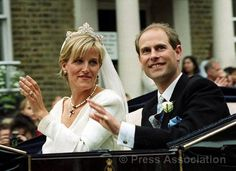 The Earl and Countess of Wessex on their wedding day | Flickr - Photo Sharing!