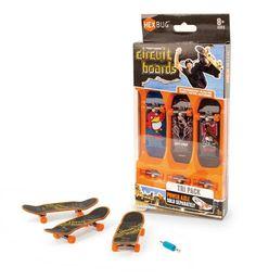Tony Hawk Circuit Boards by Hexbug - Tri Pack (Graphics Vary) Finger Skateboard, Skateboard Ramps, Brand Innovation, Tech Deck, Tony Hawk, Rc Model, Circuit Board, Skateboards, Packing