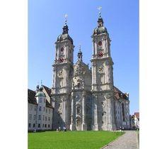 Abbey Library St. Gallen, Switzerland