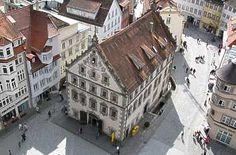 Lederhaus am Marienplatz in Ravensburg