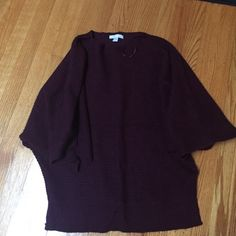 Dark purple New York and company sweater Dark purple New York and Company sweater New York & Company Sweaters