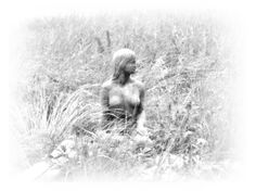 Virginia Fine Art Print Winter Maid Surreal by twistedpixelstudio, $15.00  #virginia #nude #HAB #halloweenartistbazaar