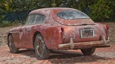 Whats Next For This Barn Find Vintage Aston Martin
