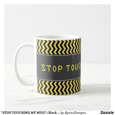 Sip from one of our many Silly coffee mugs, travel mugs and tea cups offered on Zazzle. Custom Mugs, Black N Yellow, Tea Cups, Coffee Mugs, Tableware, Dinnerware, Dishes, Tea Cup, Cup Of Tea