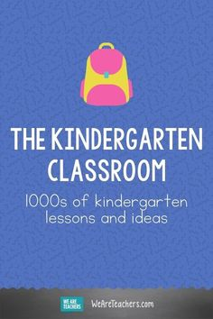 When it comes to kindergarten lessons and resources, we've got you covered! Find everything you need for reading, writing, math, science, and social studies. #classroom #kindergarten #classroomresources #classroomideas #teachingresources #math #science #socialstudies #writing Math Teacher, Teaching Math, Teaching Resources, Kindergarten Lessons, Kindergarten Classroom, Best Educational Toys, Lesson Planning, Early Childhood Education, Social Studies