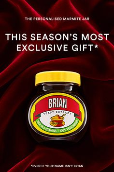 Spread the love this Christmas with the most exclusive present of 2016! Stick their name on their favourite jar of the most delicious sticky spread.