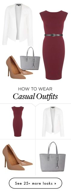 """Temperance Brennan inspired casual outfit"" by simpsonsgirl101isme on Polyvore featuring Topshop, Office, Miss Selfridge and Michael Kors"