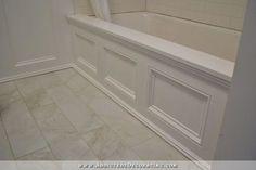 DIY Tub Skirt (Decorative Panel) For A Standard Soaking Tub