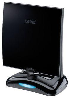 Meliconi AT-49 Antenna TV per Interni con Amplificazione fino a 49 dB 9c1463fb4ba