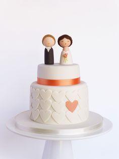 Bolo casamento: I do!