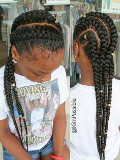 Swimming Hairstyles For Black Hair Google Search Swimming Hairstyles Hair Styles Little Black Girls Braids