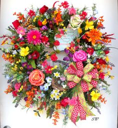 Mother's Day WreathMother of the by SeasonalWreaths on Etsy