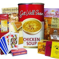 Art of Appreciation Gift Baskets Get Well Soon Chicken Soup Gift Bag Tote                                                                                                                                                      More