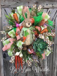 Peter Rabbit Wreath Easter Wreath Easter Decor Spring
