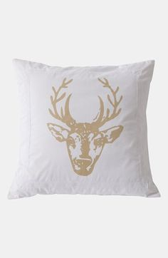 Kensie 'Delilah' Deer Pillow (Online Only) available at #Nordstrom