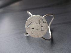 Leo Zodiac Constellation Ring Sterling Silver by jesikajack