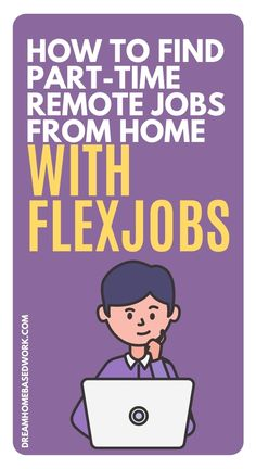 Need a job? Not sure where to look? FlexJobs has become a great place for job seekers to find work from home opportunities. People who are in search of a new career can choose FlexJobs to find remote part-time jobs from home. Here is my full review with tips to make your search a success! #workathome #jobsearch #workfromhome Work From Home Options, Work From Home Companies, Online Jobs From Home, Work From Home Opportunities, Work From Home Jobs, Earn Money Online Fast, Earn Money From Home, Home Based Work, Customer Service Jobs