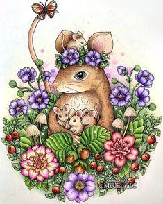 Шведская Blomstermandala от иллюстратора Maria Trolle#blomstermandala…  Davlin Publishing #adultcoloring