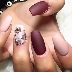 Matte nails!!! Yes please! #thenailgoals @riyathai87 gorgeous