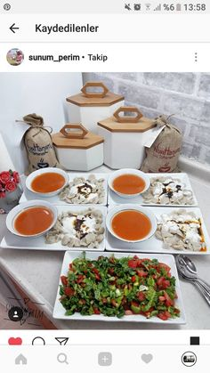 Iftar, Deco Table, A Table, Food N, Food And Drink, Seafood Recipes, Cooking Recipes, Turkish Breakfast, Food Platters