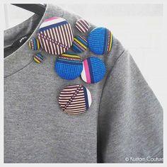 Ide de customisation de petite robe basique avec des boutonshellip